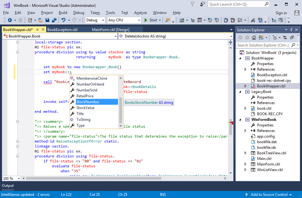 visual cobol for visual studio 2017 visual studio marketplace